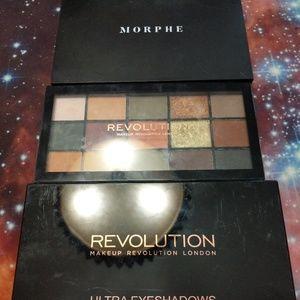 Revolution & Morphe bargain palette bundle